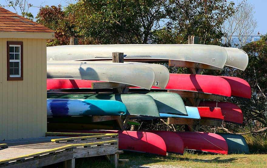 Freestanding Kayak Rack