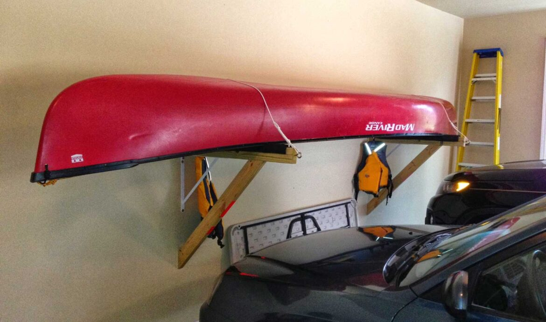 Garage Kayak Storage