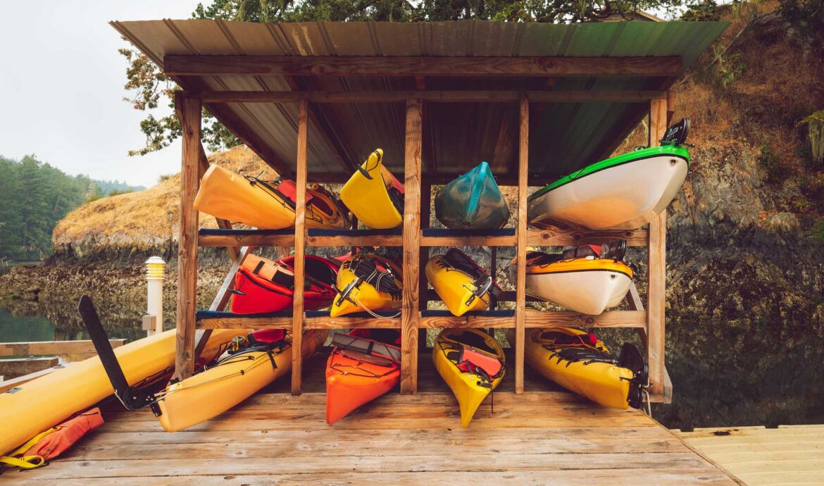 How to Store a Kayak Properly