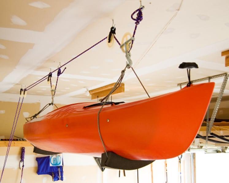 Kayak Ceiling Storage
