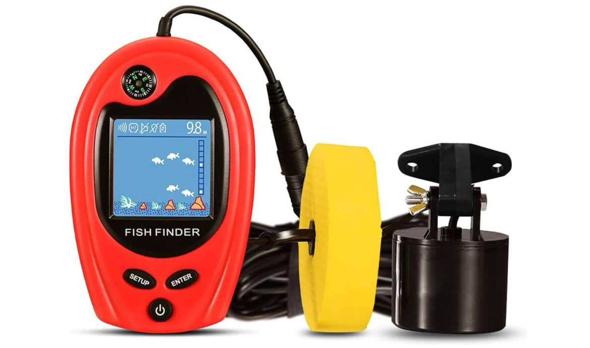 Lucky FF818 Fishing Portable Fish Finder