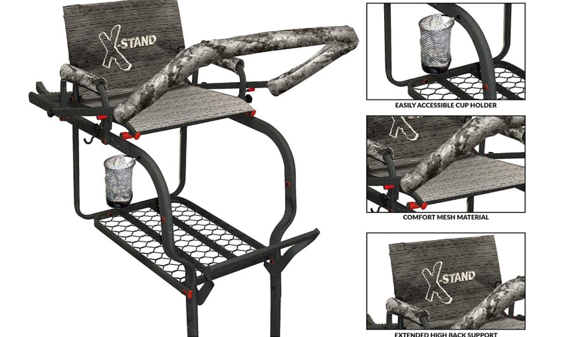 X-Stand Tree stands the Duke 20 feet Single-Person Ladderstand